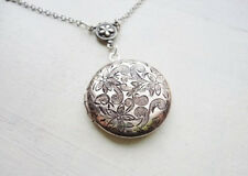 Lockets antique silver necklaces jewellery