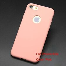 Silicon Phone Case Soft Matte Candy Colors for IPhone 6/6s Plus IPhone 7/7 Plus