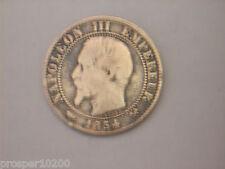 5 centimes Napoléon tete nue 1854 B