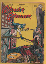Wonder Woman #29 DC Comics 1948 1st Appearance of Minister Blizzard GD-