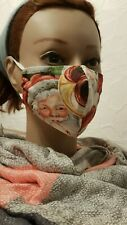 Gesichtsmaske Mund- Nasenabdeckung Maske Kinder Weihnachtsmann Trompete