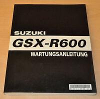 Werkstatthandbuch Wartungsanleitung SUZUKI GSX- R 600 2003 Motor Elektrik 35090