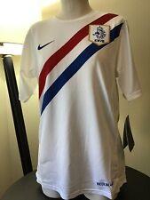 Nike KNVB Netherlands Dutch Soccer Training Jersey Boy's SZ Medium NWT