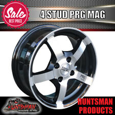 14x6  SSA 4/100 PCD PRG RACING, MAG WHEELS.  14X6', ALLOY. 14 INCH MAGS