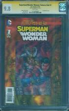 Superman Wonder Woman 1 CGC SS 9.8 Futures End Justice League Variant