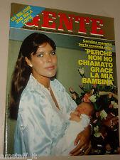 GENTE=1986/33=CAROLINE DE MONACO=ARMANDO VERDIGLIONE=ROSITA CELENTANO=VALENTINO=