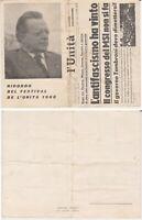 Cartolina Ricordo Festival de L'Unità del 1960