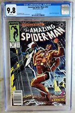Amazing Spider-Man #293 NEWSSTAND Kraven Marvel 1987 CGC 9.8 NM/MT Comic S0100