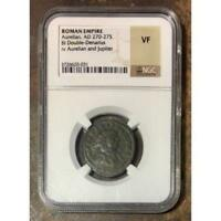 Roman Empire Aurelian, AD 270-275 NGC VF ***Rev Tye's Stache*** #003160