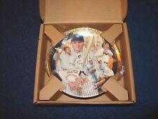 Babe Ruth Yankees Hof Hamilton Collection Best Of Baseball 23K Rim Plate (18Xx)