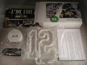 2020 Seattle Seahawks Season ticket holder STH gift 12TH MAN Neon Light Lamp NFL