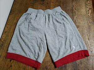 Nike Air Jordan Sweat Short Fleece  Basketball Shorts Gray Mens XL 642453-063