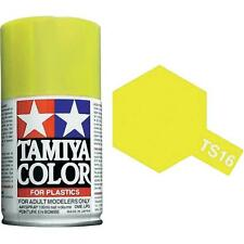 Tamiya TS-16 GLOSS YELLOW Spray Paint Can  3.35 oz. (100ml) 85016