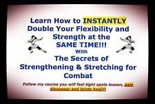 DOUBLE Flexibilty in MINUTES & ADD Strength - GM Jim Brassard