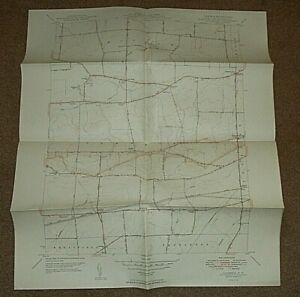 1949  CAMBRIA N.Y. QUADRANGLE MAP - NEW YORK USA