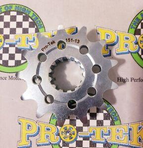 Pro-tek Kawasaki Front Sprocket 525 Pitch 13T 14T 15T 1998 1999 2000 Ninja ZX6R