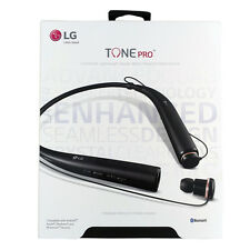 New LG Tone Pro HBS-780 Bluetooth Wireless Stereo Headset - Black