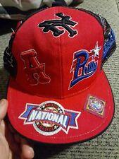 Negro Leagues Baseball Museum Cap Hat 8 1/2 - National League NLBM Mesh Red nwot