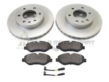 VW Crafter 2.5 TDI 30 35 134 Front Brake Pads Discs 300mm Vented