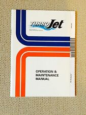 OMC V4 TurboJet Operation & Maintenance Manual 90 115 HP 212642 - 1995 and later