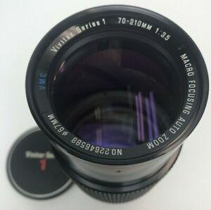 Vivitar Series 1 70-210mm f/1:3.5 Macro Focusing Auto Zoom Lens OM Mount Olympus