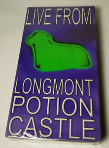 Live From Longmont Potion Castle VHS Prank Calls OOP 1998 RARE - SEALED! NEW!!!
