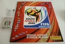 Panini World Cup 2010 empty album + all 32 shiny foil team badges South Africa