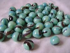 NEW 50 BUTTERFLY 14mm GLASS MARBLES TRADITIONAL GAME or COLLECTORS ITEMS HOM