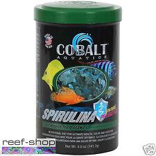 Fish Food Flakes Cobalt Spirulina 5 oz FREE USA SHIPPING