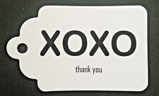 20 Gift Tags Bomboniere Favours Wedding Engagement Thank You 300 GSM Cardstock