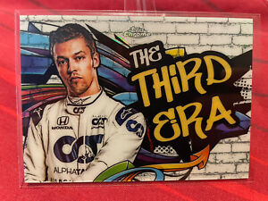 Topps Chrome Formula 1 - Daniil Kvyat- Track Tag Insert Card 'The Third Era'