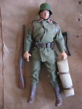 "1/6 12"" 30cm GI JOE ACTION MAN SOLDAT ALLEMAND  14 18  SOLDIER OF THE WORLD 1997"
