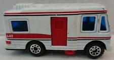 Matchbox truck camper, white, loose, China
