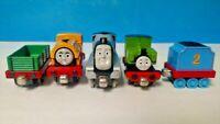 Bill, Luke, Spencer, Tender Cargo Car -Thomas Metal Diecast Take Along Train Lot