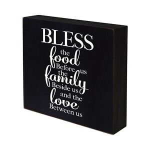 Inspirational 6X6 Wooden Shadow Box Christian Wall Art Decor