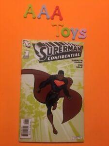 Comic Superman Confidential #1 DC Comics NM Feb '07