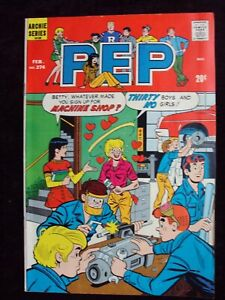 PEP #274 1973 ARCHIE COMICS BRONZE AGE COMIC BOOK