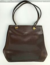 LONGCHAMPS Paris Smooth Brown Tote Bag Purse