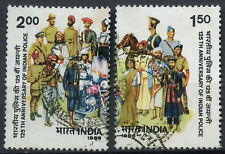 India 1986 SG#1200-1 Police Used Set #D23482