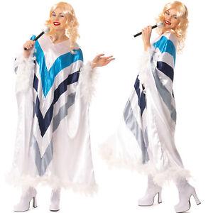 70s Disco Eurovision 1970's Popstar Trooper Poncho Cape Costume