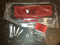 Triumph Trophy 1200 Service Kit Oil Filter Pipercross Air Filter Spark Plugs