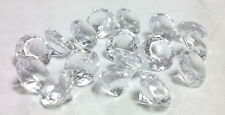 Vase Fillers Small Acrylic Crystal Diamond Gems Table Scatter Confetti 1 lb bag