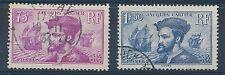 CO - TIMBRE DE FRANCE N° 296 et 297 oblitérés