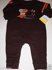 Jumping Beans 6 Mo Infant Boy Lil' Kicker Football Jumpsuit Playwear $18 NWT