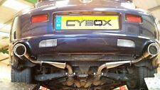 LEXUS SC430 STAINLESS STEEL EXHAUST BACK BOXES / REAR SILENCERS
