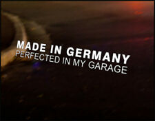 MADE IN GERMANY Car Decal Vehicle Vinyl Sticker Audi BMW Mercedes Benz Mini