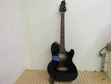 Ibanez TCY10E-BK Acoustic Electric Guitar - Free Shipping -