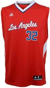 💯%GENUINE NBA Blake Griffin LA Clippers adidas Replica Road Jersey L - Red
