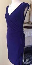 Scarlett Nite Violet Grecian Style Dress Size 10 BNWT