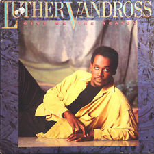 LUTHER VANDROSS Give Me The Reason US Press Epic E 40415 1986 LP